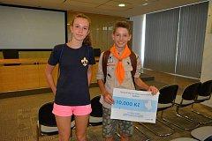 Pět vítězů dostalo od ředitelství skláren grant, každý deset tisíc korun.