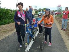 První etapa ždánické cyklostezky.