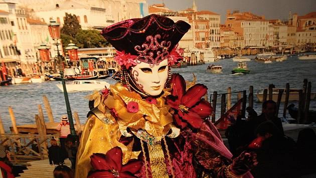 Karneval v Benátkách objektivem Vratislava Zpěváka.