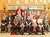 Žáci první třídy ze ZŠ Lipovec s paní učitelkou Hanou Pliskovou.