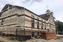 Kulturní dům v Cetkovicích prochází celkovou opravou.