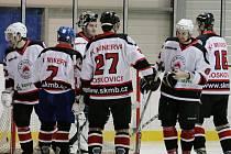 Hokejisté Boskovic celý zápas dotahovali náskok Rosic.