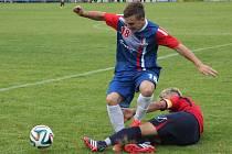 Fotbalisté Blanska remizovali ve středečním kole divize D s Polnou 1:1.