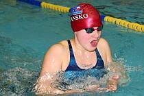 Anna Šťávová, mladá plavkyně ASK Blansko.