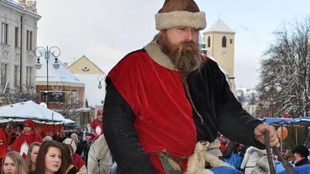 Vánoční jarmark v Boskovicích.
