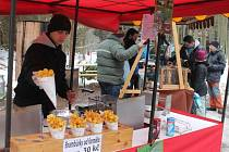 Na Bílou sobotu začala už třináctá turistická sezona na rozhledně Podvrší u Veselice s velikonočním jarmarkem.