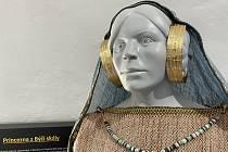 Rekonstrukce podoby princezny z Býčí skály je jedním z exponátů stálé výstavy.