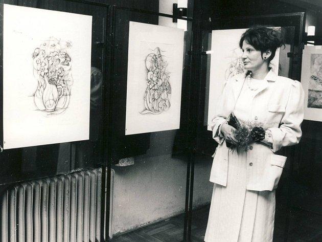 Výtvarnice Věra Kocmanová – Lišková je všestrannou umělkyní, která se zaměřuje na kresbu perem, kolorované kresby, kresby uhlem, malbu a grafiku.