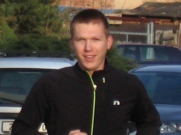 Manažer Půlmaratonu Moravským krasem Tomáš Mokrý.