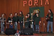 V kulturním domě v Krhově porádal turistický oddíl Stopa už sedmadvacátý ročník soutěže Dětská porta.