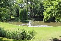 Zámecký park v Blansku.