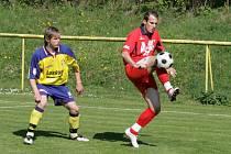 Fotbalisté Blanska na domácím trávníku porazili dvěma brankami Klevety a kanonýra Sehnala rezervu Zlína těsně 3:2.