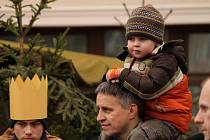 Na Masarykově náměstí v Boskovicích začal tradiční vánoční jarmark.