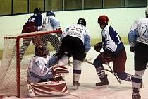 Hokejisté Blanska proti Plumlovu.