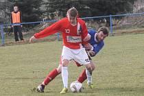 Fotbalisté Kunštátá remizovali doma s Líšní B 1:1.