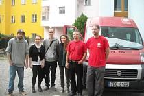 Röszke, Horgoš, Břeclav. Tam všude pomáhali v terénu lidé z Blanenska uprchlíkům.
