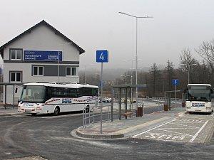 Autobusové nádraží v letovicích. Ilustrační foto