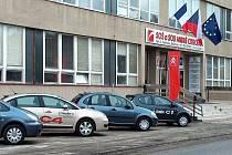Škola André Citroëna v Boskovicích.