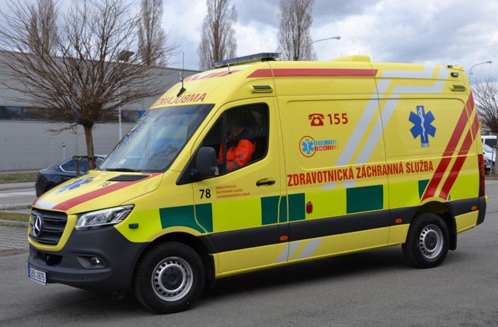 Zde je aktuální sanitka jihomoravských záchranářů Mercedes Benz Sprinter 419 CDI.