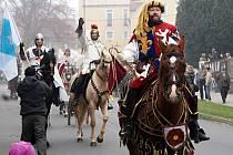 Vítání svatého Martina v Blansku.