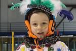 Mateřské centrum Paleček uspořádalo v pátek v Blansku pro děti karneval na ledě.