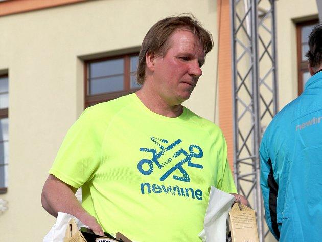 Organizátor Boskovických běhů a Půlmaratonu Moravským krasem Petr Bartošek.