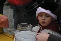 Vánoční polévka je v Boskovicích tradicí
