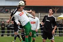 Ráječtí fotbalisté prohráli s Podivínem 1:3.