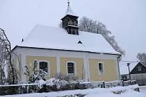 Kostel sv. Mikuláše v Němčicích.