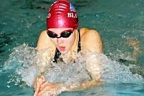 Blanenská plavkyně Veronika Zamazalová přivezla z mistrovství republiky stříbrnou medaili.