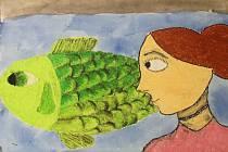 Loučení s kaprem. Zuzana Hloušková, 12 let
