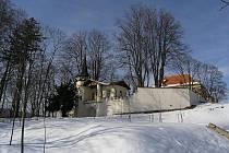 Kunštátský zámek.