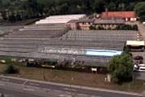 Areál Zahradnictví Blansko naproti Kauflandu.