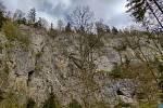 Výlet Moravským krasem. Nad Punkevními jeskyněmi.