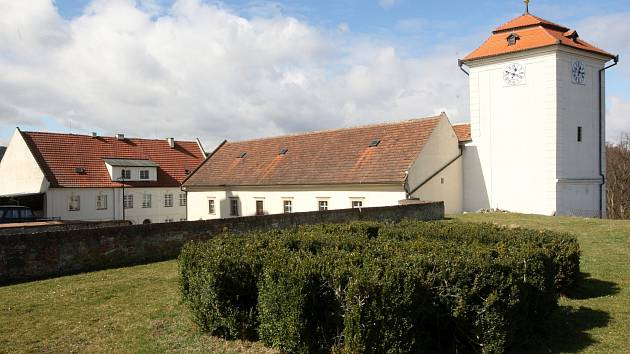 Zámek Kunštát na Blanensku.