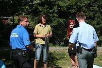 Policisté radili turistům u Olšovce. Jak bezpečně kempovat.