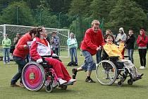 Stacionář Betany Boskovice uspořádal již čtrnácté sportovní hry pro handicapované.