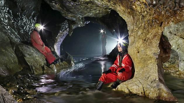Systém Amatérských jeskyň je největším jeskynním komplexem v České republice.