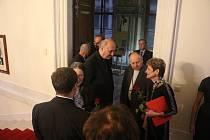 V Senátu byla zahájena výstava o Tomáši kardinálu Špidlíkovi.