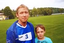 Starosta fotbalového klubu Lipovec a jeho dlouholetý hráč Vojtěch Zouhar.