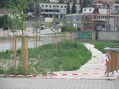 Adamovští opravují střed města. Na snímku náměstí Práce.
