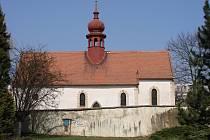 Kostelík Všech svatých v Boskovicích.