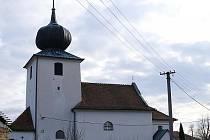 Kostel zasvěcený sv. Maří Magdaléně v Sulíkově.