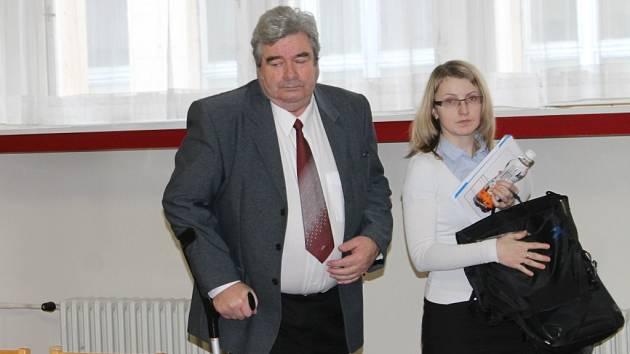 Okresní soud v Blansku projednával případ nepředání obecní agendy Sudic bývalým účetním obce Vítězslavem Bártou (na snímku) nynějšímu zastupitelstvu.