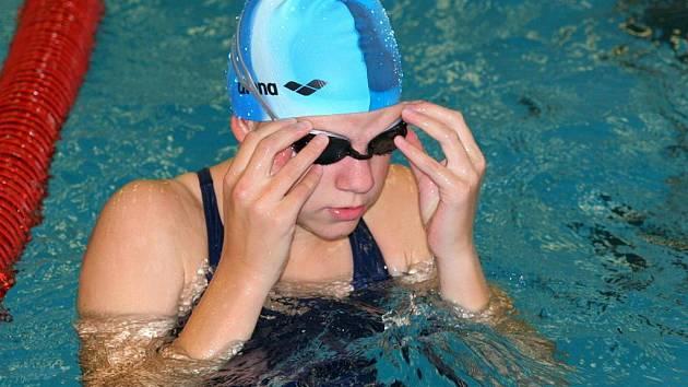 Plavkyně Anna Tlamková.