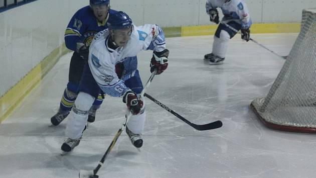 Hokejisté Blanska porazili poslední Břeclav B 6:5.