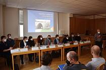 V Černé Hoře na Blanensku se konala beseda o přípravě rychlostní silnice 43.