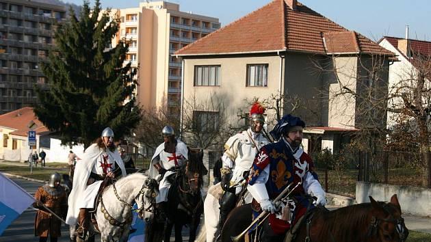 Vítání svatého Martina v Blansku - ilustrační foto.