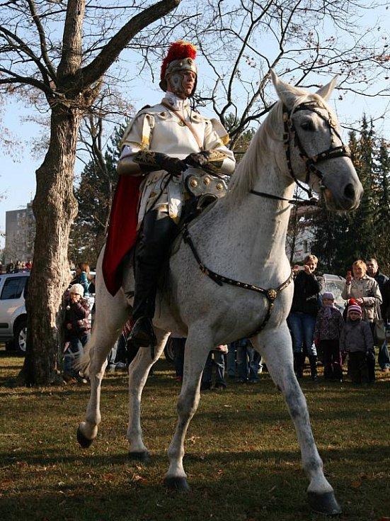 Blansko v sobotu již popáté ovládly oslavy vítání svatého Martina.