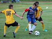 V přípravném fotbalovém utkání remizoval FK Blansko s Olympií Ráječko 1:1.